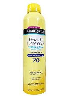 Xịt chống nắng Neutrogena Beach Defense SPF70