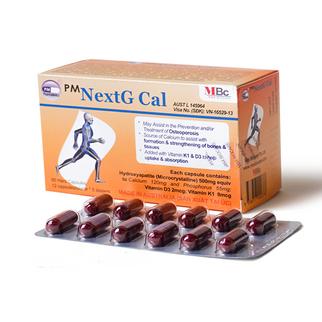 NextG Cal bổ sung canxi cho bà bầu và trẻ em