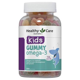 Kẹo dẻo Healthy Care Gummy bổ sung omega 3 cho bé