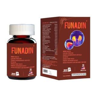 Funadin - hỗ trợ cho người men gan cao, giải độc gan
