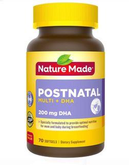 Nature Made Postnatal Multi DHA cho phụ nữ cho con bú