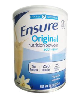 Sữa Bột Ensure Original Nutrition Powder Add Water Chính Hãng Của Mỹ