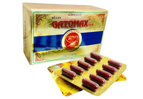 Viên bổ gan Gatomax Syn hỗ trợ tăng cường chức năng gan