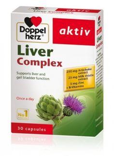 Viên uống bổ gan Doppelherz Aktiv Liver Complex