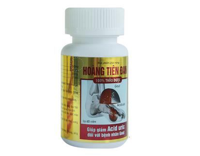 Viên uống hỗ trợ điều trị gút Hoàng Tiên Đan