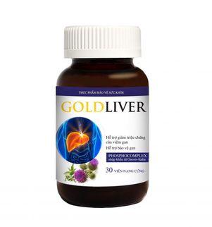 Viện uống tăng cường chức năng gan GoldLiver