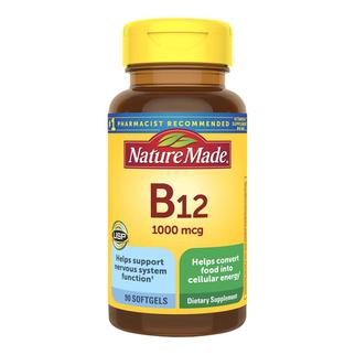 Viên bổ sung Vitamin B12 Nature Made 1000 mcg của Mỹ