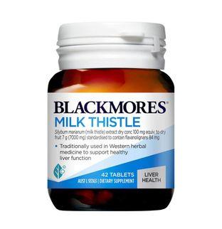 Viên uống Milk Thistle Blackmores hộp 42 viên của Úc