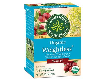Trà hỗ trợ giảm cân Organic Weightless Cranberry của Mỹ