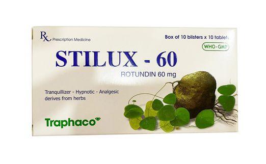 Thuốc an thần, gây ngủ, giảm đau Stilux- 60