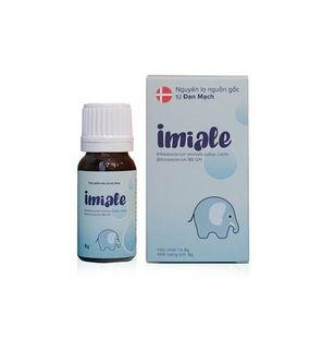 Lợi khuẩn sống Imiale Đan Mạch cho trẻ biếng ăn tăng hấp thu
