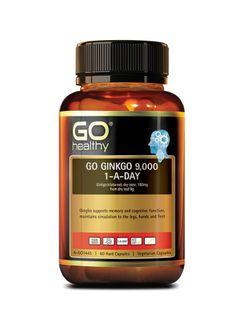 Viên uống Go Ginkgo 9000+ hỗ trợ tăng cường trí nhớ