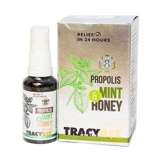 Xịt keo ong xanh Tracybee Propolis Mint Honey