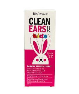 Xịt hỗ trợ làm sạch ráy tai Clean Ears Kids 30ml của Úc