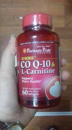 Viên uống bổ tim mạch Coq10 & l-carnitine Puritan's Pride