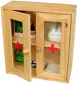Tủ thuốc gia đình Đức Thành 40241 (gỗ cao su)