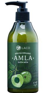 Dầu xả Laco Organic Amla cho mái tóc suôn mềm