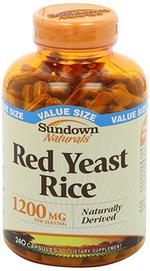Viên uống gạo lứt đỏ lên men Red Yeast Rice 1200mg