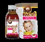Siro Hartus Appetite cho bé chính hãng Ba Lan 150ml