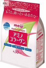 Meiji Amino Collagen Dạng Bột Cho Phụ Nữ Dưới 40 Tuổi