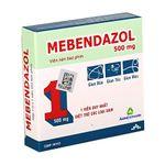 Thuốc điều trị các loại giun đường ruột Mebendazol 500mg