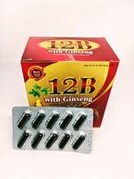 Viên uống 12B hỗ trợ bổ khí huyết (1 vỉ x 10 viên nang)