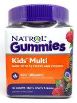 Kẹo Dẻo Natrol Gummies Kids' Multi Cho Bé Từ 4 Tuổi