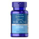 ZinC for Acne - Viên bổ sung kẽm, ngừa mụn của Mỹ