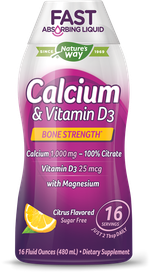 Calcium & Vitamin D Liquid Nature's Way Dạng Nước