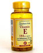 Viên uống bổ sung Vitamin E 400 IU Puritan's Pride