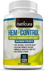 Viên uống hỗ trợ điều trị trĩ Naticura Hem Control