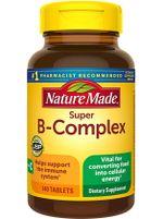 Nature Made Super B-complex hỗ trợ tăng đề kháng, giảm mệt mỏi