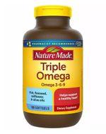 Dầu cá Nature Made Triple Omega 3-6-9 hộp 180 viên
