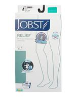 Vớ y khoa đùi Jobst Relief hỗ trợ giãn tĩnh mạch màu da, không silicon