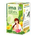 Cao trà hữu cơ IMA hỗ trợ lợi sữa cho mẹ sau sinh